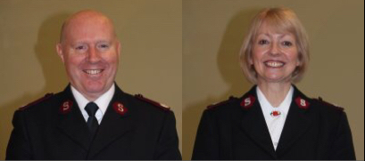 New Officers – Majors Andrew and Valerie Spivey